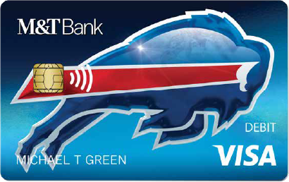 Bills M&T Bank Debit Card