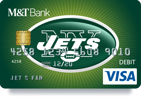M&T Bank Jets debit card
